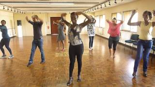 Anish Popli dancer Choreographer at Marion Munga from Kenya Afro Salsa Dance Workshop 2015
