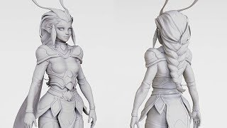 Sculpting A Basemesh in ZBrush - ULTIMATE Career Guide: 3D Artist