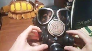 видео противогаз гражданский гп 7б