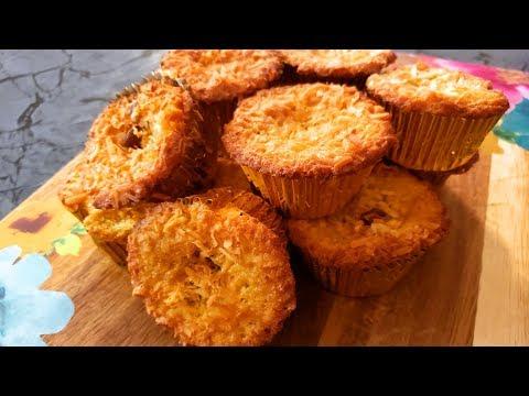lemon-coconut-cupcake-recipe-/-biscuit-coco-moelleux-au-citron