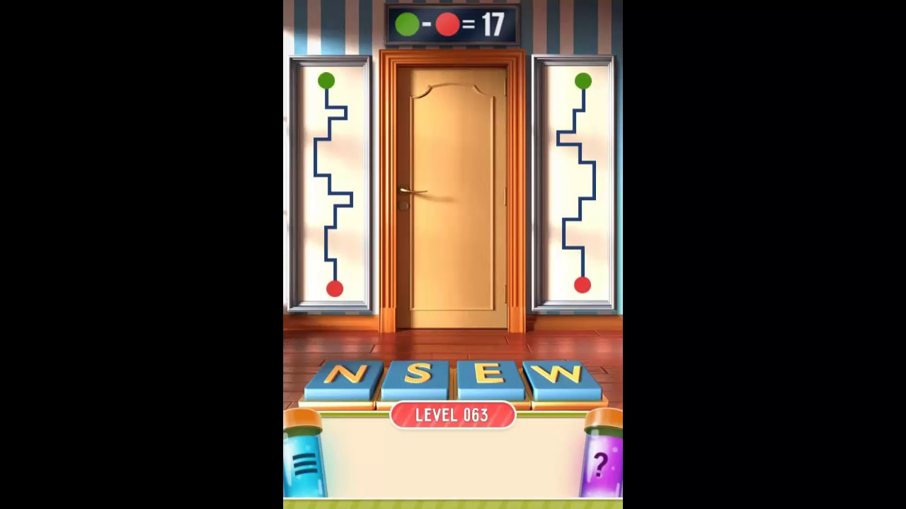 100 doors puzzle box level 63 walkthrough youtube for Door 4 level 21
