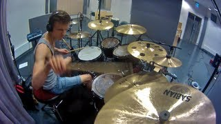TESSERACT - Retrospect drum cover, by Theo Saenger