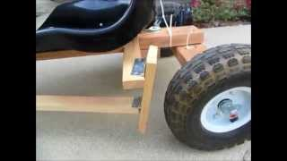 Diy Go Kart Powered By Drill Motor Detail
