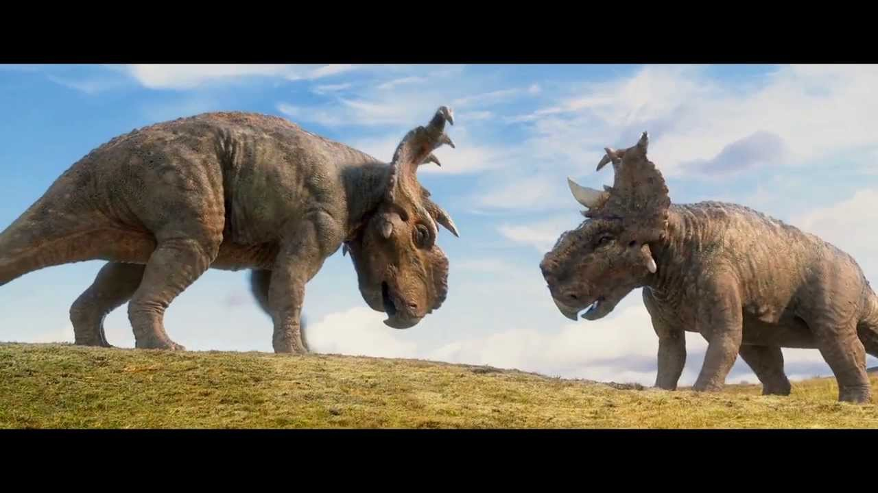 walking with dinosaurs the 3d quot butting