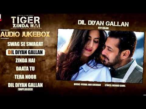 Tiger Zinda Hai Audio Jukebox | Salman Khan | Katrina Kaif | Vishal and Shekhar | Irshad Kamil HD