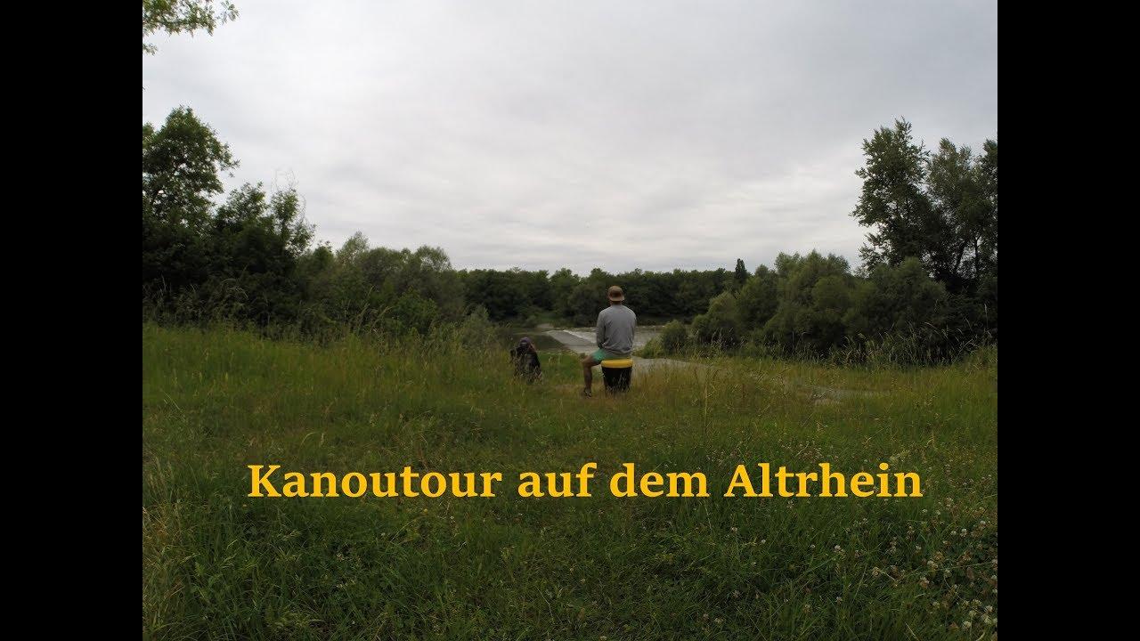 Kanutour Altrhein