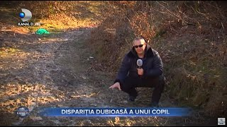 Stirile Kanal D (18.04.2021) - Disparitia dubioasa a unui copil!  | Editie de pranz