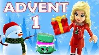toy advent calendar day 1 shopkins lego friends play doh minions my little pony disney princess