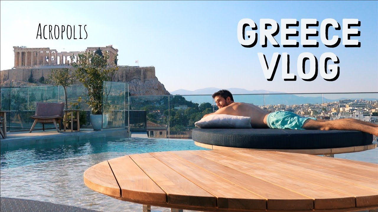 GREECE TRAVEL VLOG: Exploring Athens | KharmaMedic
