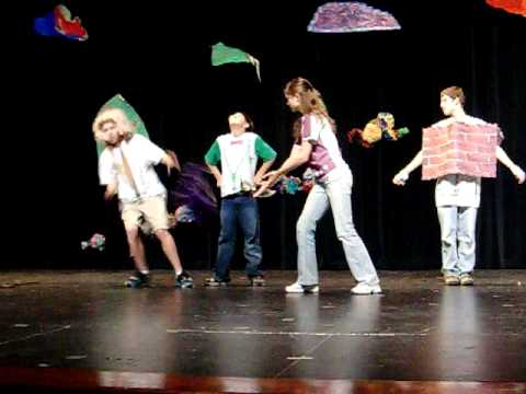 Emily's scene from Shakespeare Camp Production