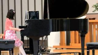 Priscilla (9 yr)- 2012 Piano Recital - Rhapsodie Maxwell Eckstein