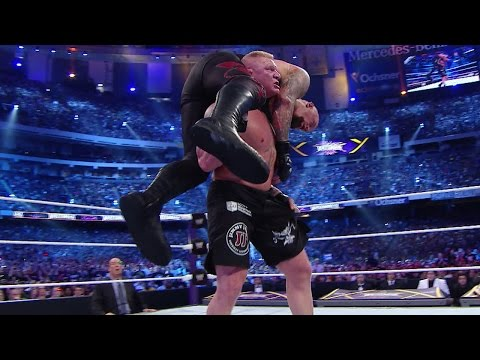 WWE Network: The Undertaker Vs. Brock Lesnar – WrestleMania 30