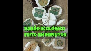 SABÃO ECOLÓGICO FEITO EM MINUTOS