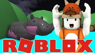 ESCAPING A ZOO OF ANGRY HIPPOS - Roblox Escape The Zoo Obby