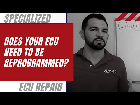 Does your ECU need to be Reprogrammed?