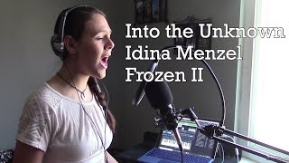 """Into the Unknown"" Idina Menzel feat. AURORA- ""Frozen II"" (Katie Fox Cover)"