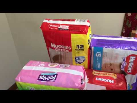 Part 2 Huggies Deal and Story Time: Giant/ Stop and Shop/ Martin's Couponing Deals January 5-11 2018