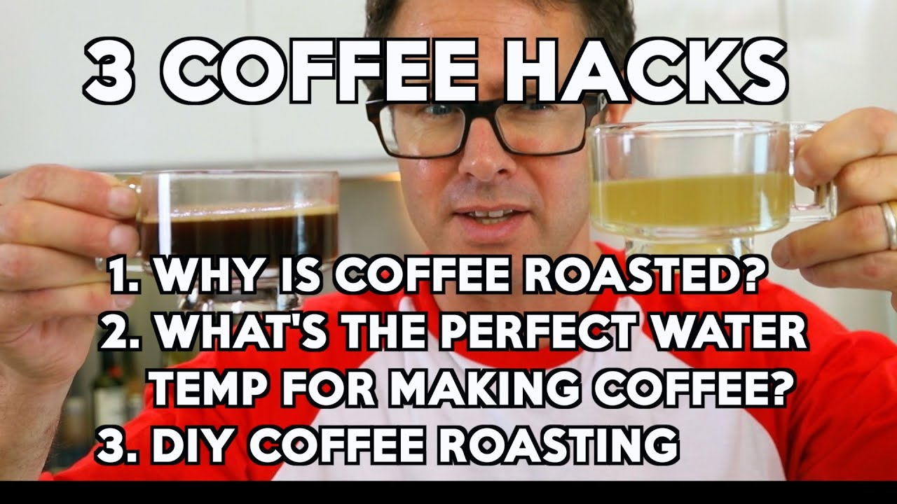 3 amazing COFFEE hacks
