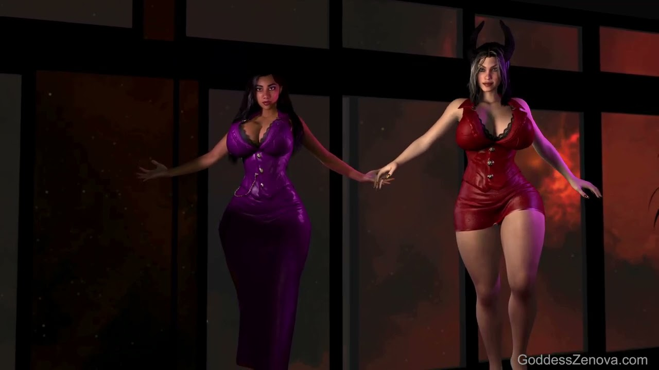 The Succubus Spell 3D Animation sample