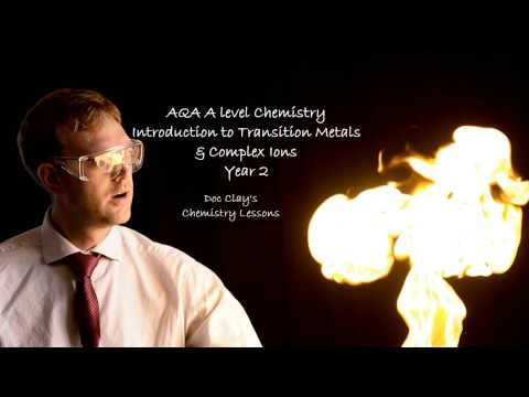 AQA A level Chemistry Introduction to Transition Metals