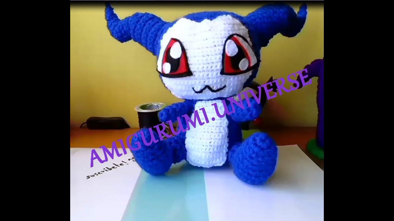 Amigurumi Universe : DIY Cute Crochet Tutorial Demiveemon (Digimon) por ...