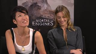 Mortal Engines - Interview with Jihae and Leila George