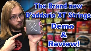 D'addario's Brand New XT Strings! | Are They Anything Special?