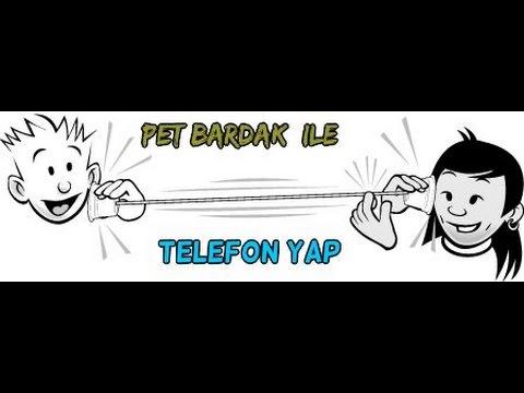 Pet Bardakdan Telefon Yapmak Bir Ses Deneyi