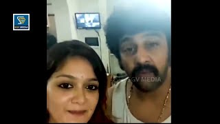 Chiranjeevi Sarja Last Video With Wife Meghana Raj During Lockdown Time