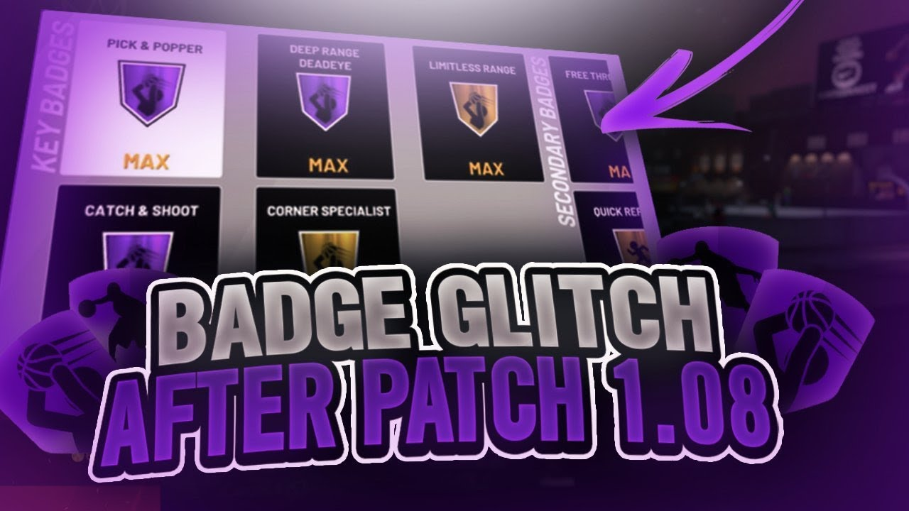 NEW* NBA 2K19 BADGE GLITCH AFTER PATCH 1 08 MAX BADGES in 1