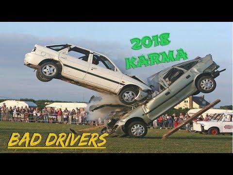 ROAD RAGE IN AMERICA - USA & CANADA BAD DRIVERS COMPILATION 2018 [KARMA]