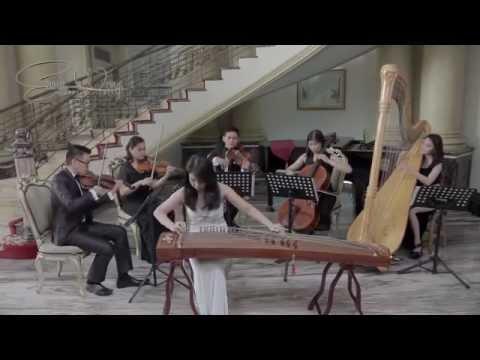 A Unique Cover: Yue Liang Dai Biao Wo De Xin (Guzheng With Harp and Strings)