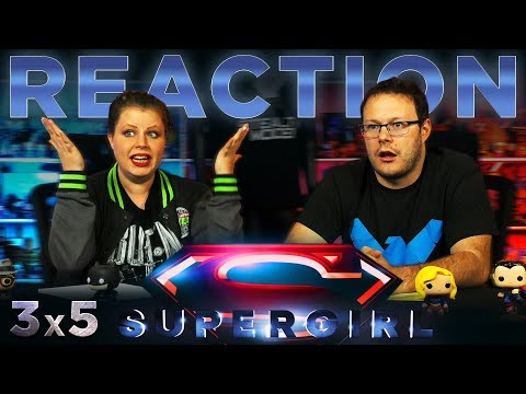 "Supergirl 3x5 REACTION!! ""Damage"""