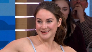 Shailene Woodley Interview on 'Big Little Lies' live on 'GMA'