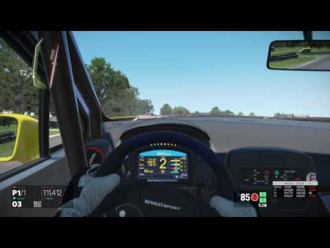 Project CARS_ Cadwell Park GP Praktic onboard sebaws Renault Clio CUP