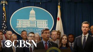 California announces lawsuit against Facebook