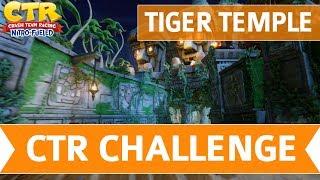 Crash Team Racing Nitro Fueled - Tiger Temple CTR Challenge Token Locations