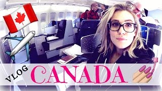 Vlog | GOING TO CANADA | KLM BUSINESS CLASS
