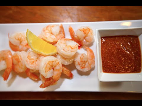 The Easiest Shrimp Cocktail Recipe | SAM THE COOKING GUY