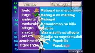 Iba't-ibang Uri ng Tempo - Interactive MSEP/Music Lesson Module