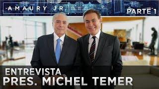 Amaury Jr. toma café da manhã com o Presidente Michel Temer