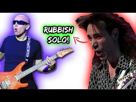 Joe Satriani: My WORST Guitar Solo! | Steve Vai Didn't Like It!