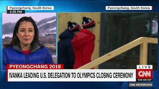 Ivanka Trump practices diplomacy on South Korea Olympics trip