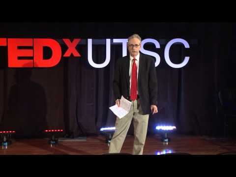 Reading poetry in the age of anxiety - the only way to live: Garry Leonard at TEDxUTSC