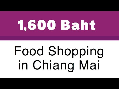 Cost of Food in Thailand What 1,600 Baht  Buys You