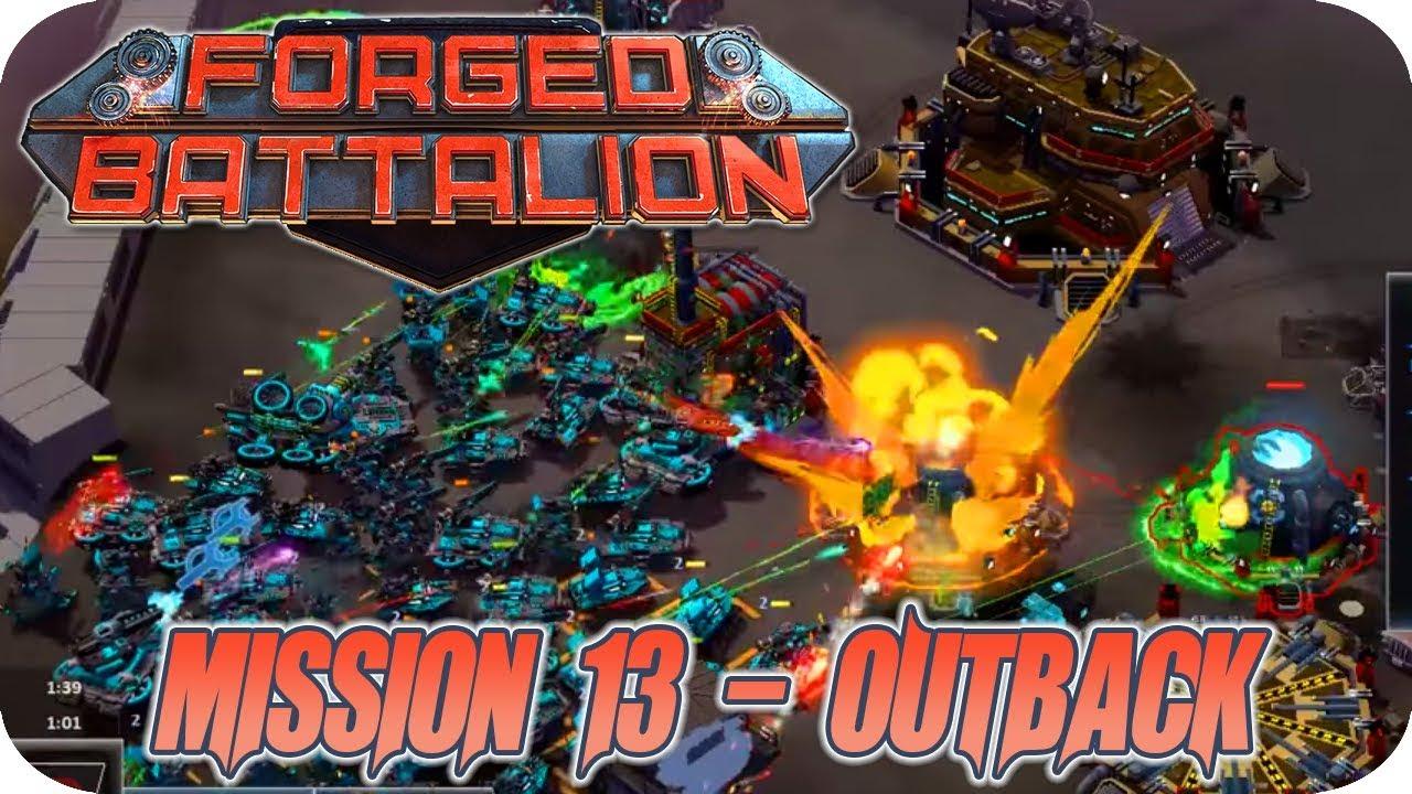 Download Forged Battalion #12 Mission 13 Insane Massive Mira Tanks