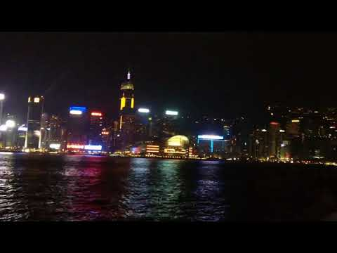 HongKong at Night Kowloon July 2015