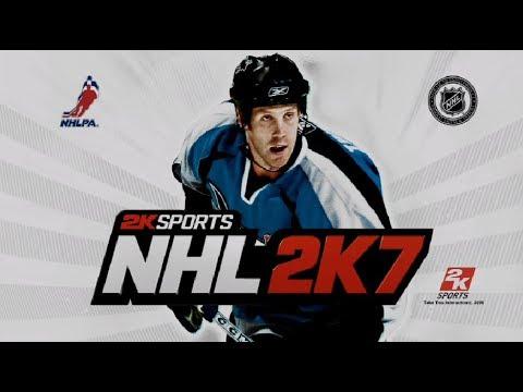 Hockey Game History Nhl 2k7 Xbox 360 Youtube