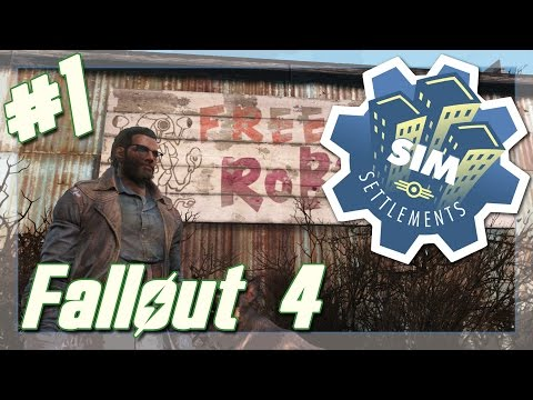 "Fallout 4: Sim Settlements // Ep. 1 - ""Ron Town is BETTER"" [Modded]"