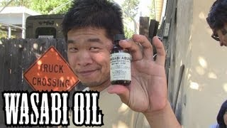 Jimmy Lin & Kevin Ross Try Wasabi Oil